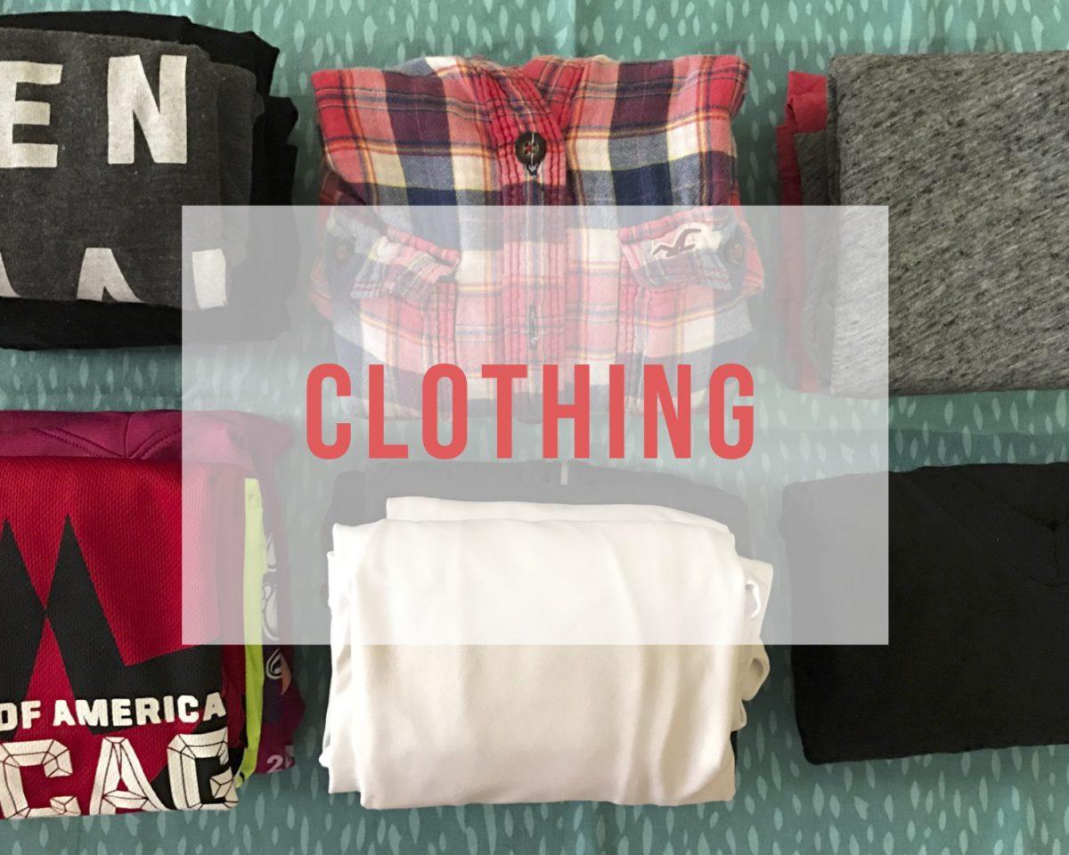 Long Term Travel Packing List Clothing Lattes Amp Runways