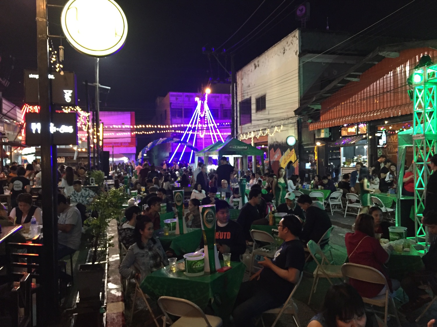New Year's Eve in Chiang Rai, Thailand - Lattes & Runways