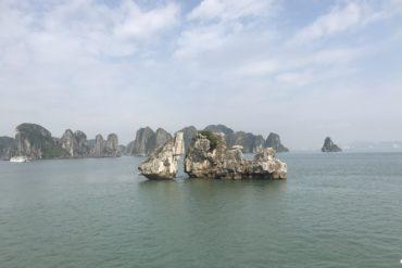 Kissing Chickens of Ha Long Bay